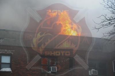 Hempstead F.D. Double Fatal Working Fire (5th Alarm) 17 St. Paul'sRd. 2/9/13