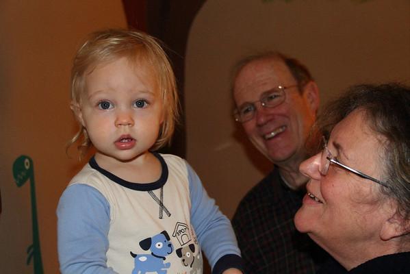 Granma & Granpa Ellis Visit 2013