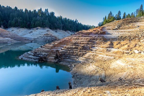 Bullards Bar Reservoir.