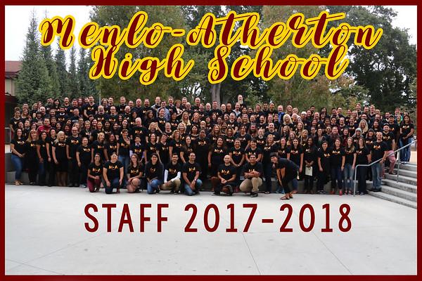 2017-2018 Staff photo