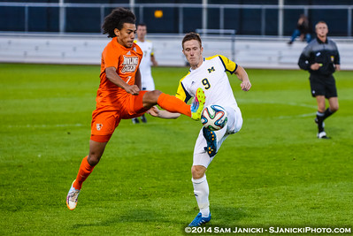 Best of UM Men's Soccer Vs BGSU 9-16-14