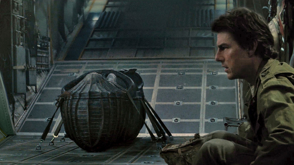 ". Tom Cruise appears in a scene from, ""The Mummy,\"" in theaters June 9.  (Universal Pictures)"