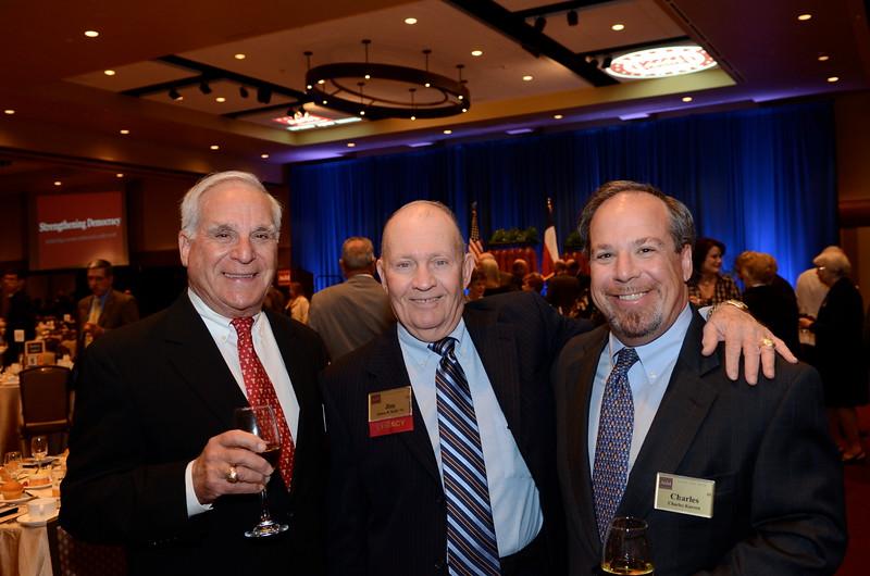 Howard Karren '51, James Kelly '52, Charles Karren