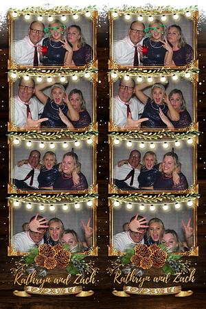 Kathyrn and Zach's Wedding 12-23-17