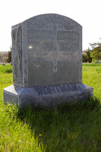 Burial plot near the family farm