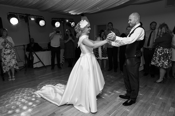 Cezi and Paul at The Grange Hotel, Grange-Over-Sands