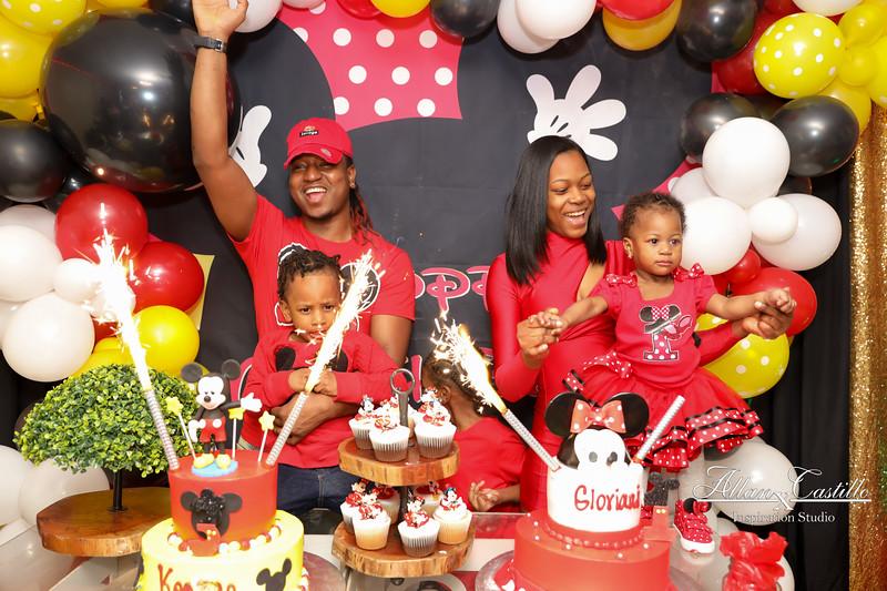 Keenan & Gloriani's Birthdays