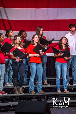 2014-11-11 AHS Choir Veteran's Day Concert (A Salute to American Heros)