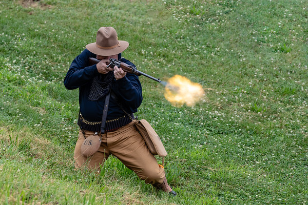 120th Anniversary of the Spanish-American War at Fort Mott