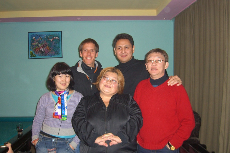 Group Picture - Naryn, Kyrgyzstan