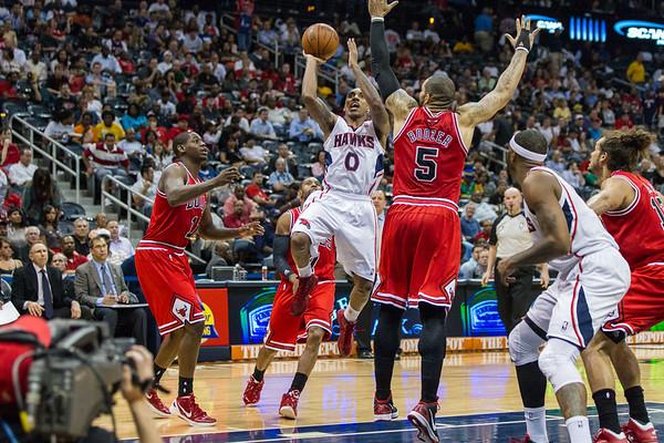 2012 Atl. Hawks vs Bulls