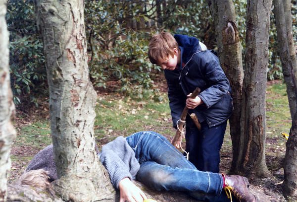 1985 Spring Scout Camp at Barnswood