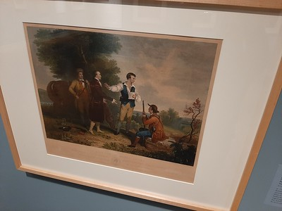 """""""The Capture of Major Andre"""" print"""
