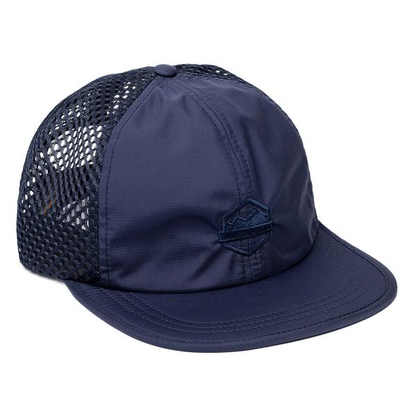 Organ Mountain Outfitters - Outdoor Apparel - Sportswear Headwear - OMO Performance Mesh Cap - Navy.jpg