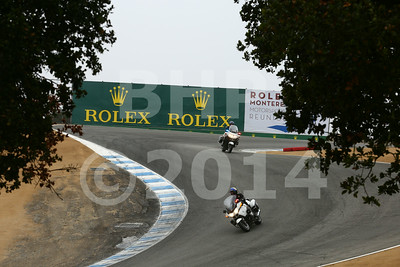 The Pebble Beach Tour D' Elegance parade from 2014 Rolex Monterey Motorsport Reunion