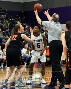 2018 Varsity Lady Tigers vs Commerce Lady Tigers 1/15/2019