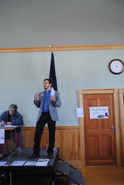 Barnard Town Meeting