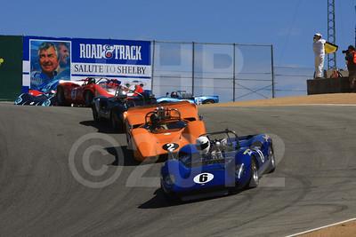 2012 RMMR Sat Group 5A Rolex Monterey Motorsport Reunion Race Group 5A