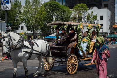 2018 SDOP Carriage in Rose Festival Parade