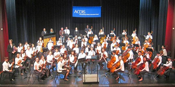 European Middle School Honor Orchestra Festival