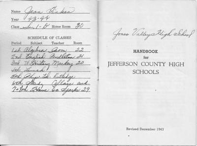 1943 Student Handbook