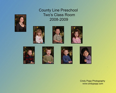 2009 Pre-K Class Collages