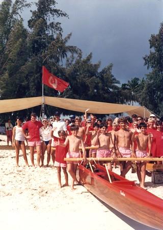 1987 Kamehameha Regatta 6-7-1987