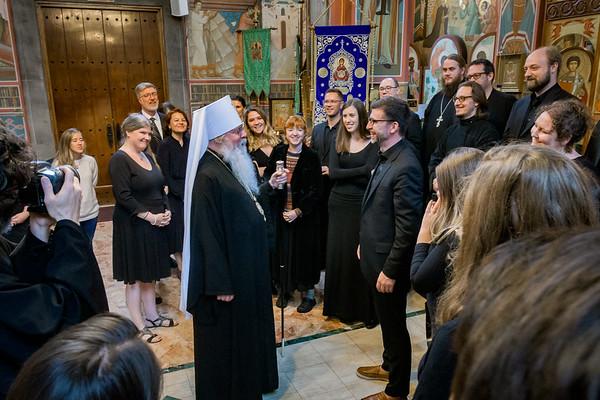 Sheehan Liturgy Church Premiere
