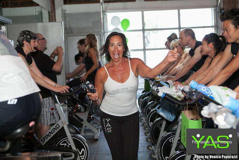 YAS-A-THON.  Yas Fitness Centers.  Go2Yas.com. Photo by VenicePaparazzi.com