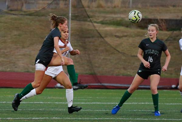 2019 OSAA Girls Soccer Wilson vs Glencoe