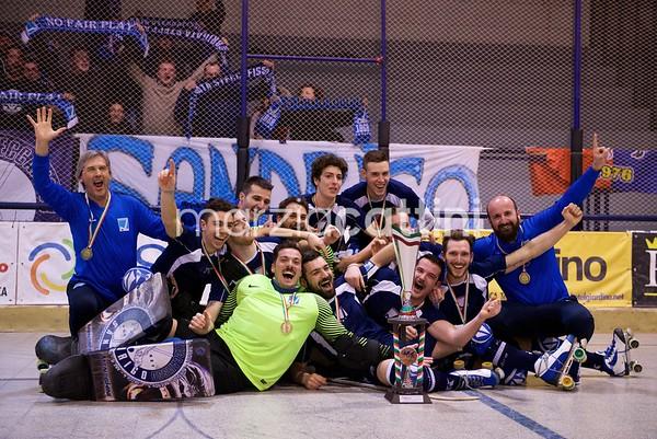 Finale: Hockey Sandrigo vs Roller Bassano