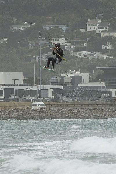 20160325 Kite Boarders at Lyall Bay, Wellington _MG_2335