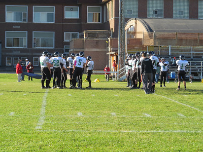 West Football at Mesabi Academy 2013
