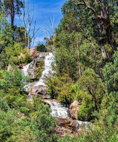 Top Section of Stevenson Falls, Marysville, Victoria, Australia