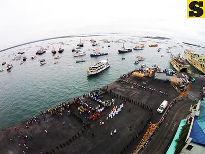 Sinulog 2015: Sto. Niño fluvial procession