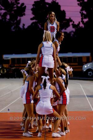Boone @ University High School Varsity Cheer - 2010