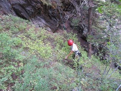 Bear Creek Canyoneering, Ouray CO - 9/8/2012