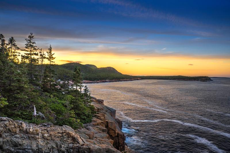 Beautiful Sunset- Acadia National Park