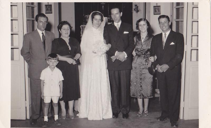 Casamento Andrada - Jaime Silva e Flora Casal Rui Inacio e Tavares sao os padrinhos