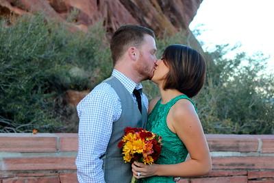 Zach & Evangelina Renew @ Red Rocks
