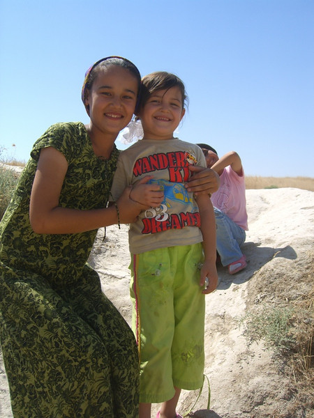 Smiling Faces - Annau, Turkmenistan