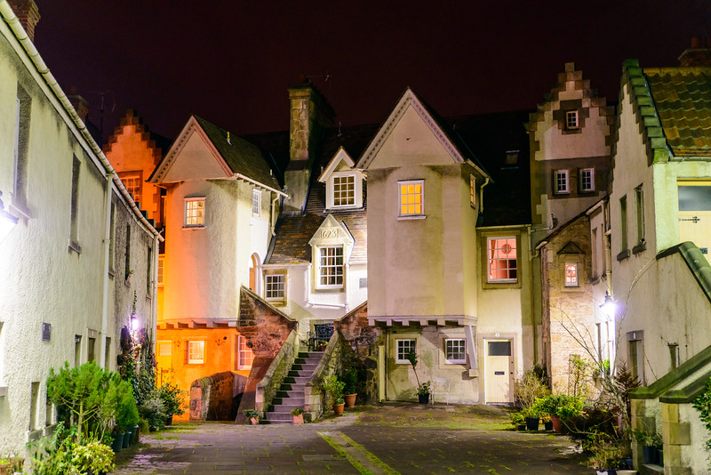 Night Time at White Horse Close