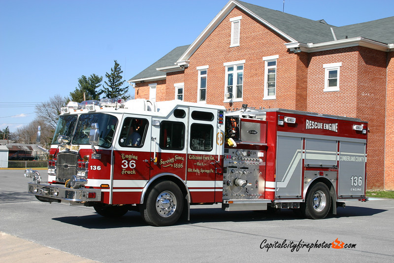 Mt. Holly Springs Engine 1-36: 2006 E-One Cyclone II 1750/750/30