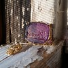 'Push Along' Purple Glass Pendant, by Seal & Scribe 6