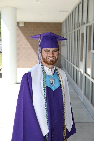 Ethan Cap and Gown