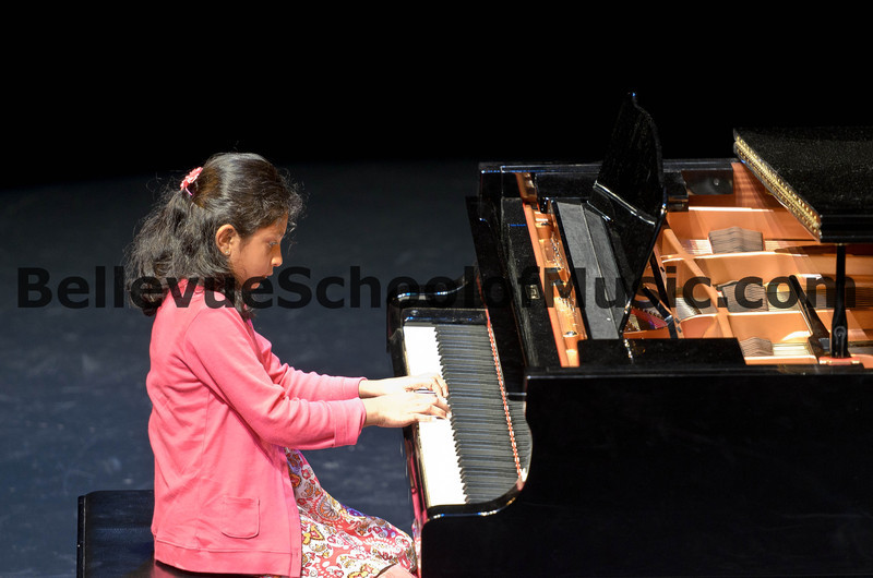 Piano Student Bellevue School of Music Spring Recital 2012