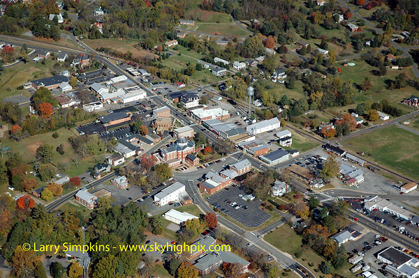 Aerial photos and other images of Louisa County, Virginia