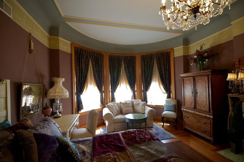 Wiedemann Hill Mansion - gentleman's changing room