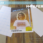 SKU: H-PAPER/A4L, Heatware A4 Sublimation Paper for All Fabric, Cotton (-95%), Laser/Inkjet 20 Sheets