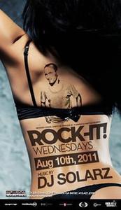 Rock-It Wednesdays @ Infusion Lounge 8.10.11